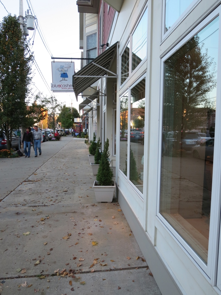 Rhinebeck - a lovely mecca for shopping and eating, of which we did plenty!