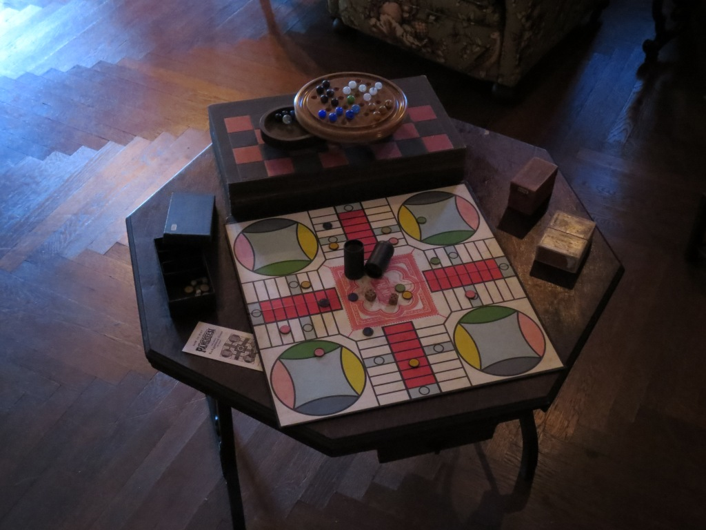 Presidents like board games, too!
