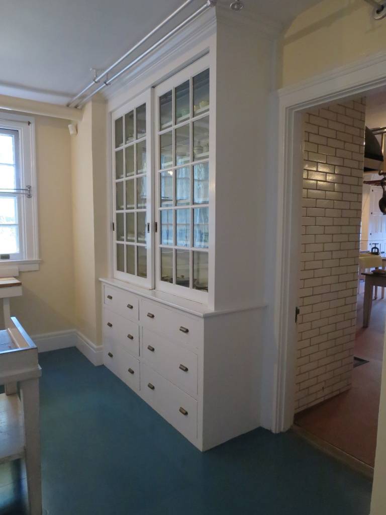 And this butler's pantry!