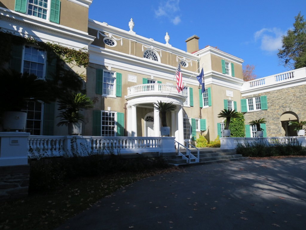 """Not too shabby, eh?  Again with the Dutch colonial influence, and much more """"homey"""" than the Vanderbilt mansion up the road."""