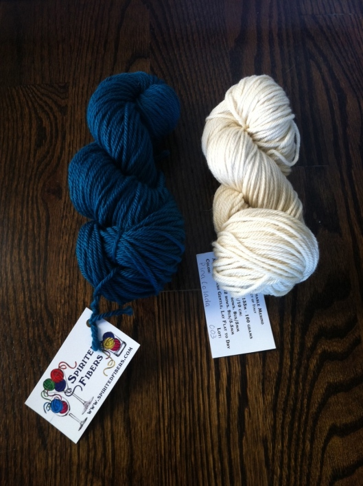 more in a later post about a collaboration with these lovely skeins from Sue of Spirited Fibers.  a dreamy worsted weight merino, perfect for hats!